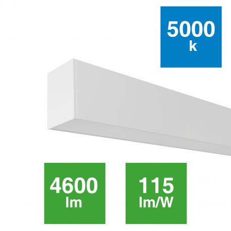 Luminaria Linear 40W Suspensión