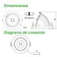 Downlight Acentuación Circular