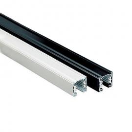 Carril aluminio trifásico 1m