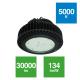 Campana IP65 225W transparente