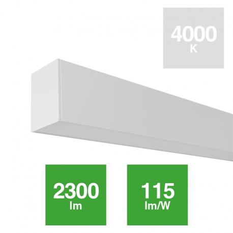 Luminaria Linear 20W Suspensión