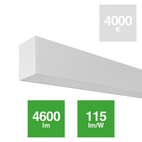 Luminaria Linear 40W Techo