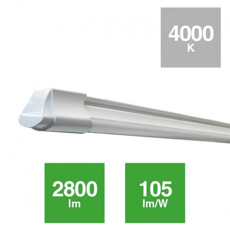 Luminaria estanca IP65 PC 1200mm