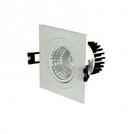 Downlight Spot COB Cuadrado 9W