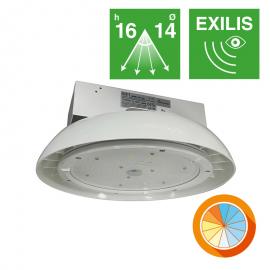 Campana IP65 EXILIS 150W con C.Color